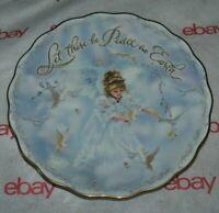 RECO Peace on Earth Sandra Kuck 2002 Plate BRADFORD Exchange 1st Issue LTD