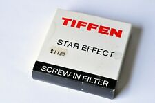 New Tiffen 52mm STAR 4pt 2mm Effect Filter Screw in Rotating All Made in Japa