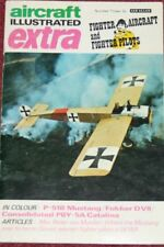 Aircraft Illustrated Extra Magazine 3 Fighter Aircraft & Pilots,Me262,P-38,P-51