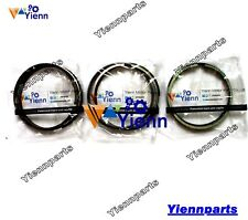 3D84-2 3D84-3 3D84E Piston Ring set for Komatsu engine 3D84N 3D84N-2 S3D84E 3D84