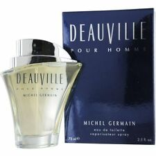 2=1+1 NEW BIG SALE: DEAUVILLE By  M. GERMAIN Men EDT 2.5 OZ Spray + BLASS VIAL