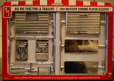 1969 Big Rig Tractors & Trailers Mercury Chrome Plated Sleeper, 1:25, AMT 0012