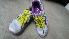 Preown women MIZUNO Wave Rider 17 running shoes size 9 hardly worn remov insoles