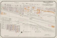 1913, CHARLES E. GOAD, CANADA, MONTREAL AMATEUR ATHLETIC GROUNDS, COPY ATLAS MAP