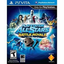 PlayStation All-Stars Battle Royale Game PS Vita - Brand New!