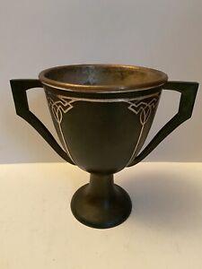ANTIQUE 1912 HEINTZ STERLING ON BRONZE TROPHY CUP 6545 No Reserve