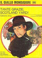 TANTE GRAZIE SCOTLAND YARD! - CATHERINE ARLEY