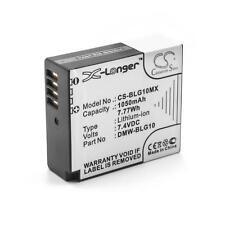 Batterie 1050mAh pour PANASONIC DMW-BLG10, DMW-BLG10E