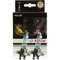 Bosch Plus 90 H7 Headlamp Bulbs Twin Pack 12v 55w 477