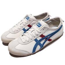 Asics Onitsuka Tiger Mexico 66 VIN Vntage White Blue Leather Men TH2J4L-0142