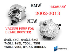 Brake Vacuum Pump w O-Ring For BMW 545 550 645 650 745 750 760 B7 X5 GERMANY