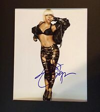 LADY GAGA AWSOME HAND SIGNED Autograph 8 x 10 PHOTO FRAMED  W/COA