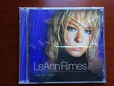 I Need You [Bonus Tracks] by LeAnn Rimes (CD, Mar-2002, Curb) EMPTY CD CASE