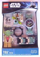 Star Wars Lego Buildable Wrist Watch Set YODA 9002069 Minifigure C-10 Mint MIMB