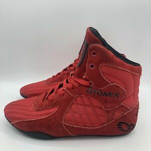 Otomix Men's Stingray Bodybuilding Weightlifting MMA & Wrestling Shoes Size 7