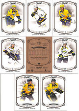 2015-16 UD Upper Deck Champs Nashville Predators Team Set (8)