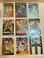 Ichiro ⚾ SUPER LOT C ⚾ with (9) SEATTLE MARINERS MLB baseball cards