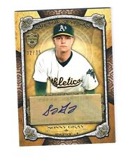 RARE 32/35 Asia Topps Suprem Sonny Gray 2013 Baseball Auto Autograph Signed Card