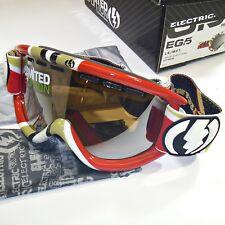 Electric EG.5 Snow Goggles &More-LS/MFT Frame/Orange w Silver Chrome Mirror Lens