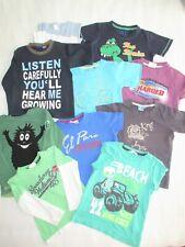 11er Paket T-Shirt Polo Gr 98/104 Kurzarm Langarm Mädchen Jungen blau grün H&M