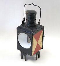 DB Eisenbahn-Laterne mit Petroleumlampe