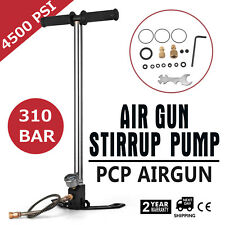3 Stage PCP Air Gun Rifle Filling Stirrup Pump Hand Pump Hose Gas Filter Hose