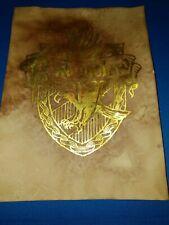 Harry Potter House Crest Ravenclaw Gold Leaf. Harry Potter prop