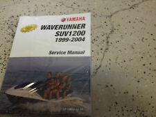 2002 2003 2004 Yamaha Water Vehicle WaveRunner SUV SV1200 Service Shop Manual