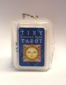 MINI  TINY UNIVERSAL WAITE TAROT CARDS DECK  + InstructionU.S. GAMES