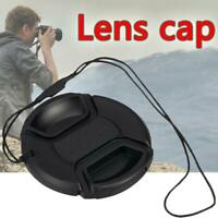 2Pc 49MM Front Lens With String Plastic Cap Cover Accessory For SLR Camera  Top