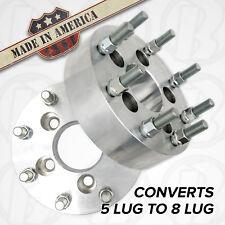 "USA MADE | 5 Lug to 8 Lug | Wheel Adapters / 1.5"" Spacers | 5x4.5 to 8x170"