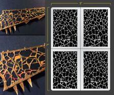 Magma Stone Airbrush Stencil Texture Patern Schablonen Maskierung
