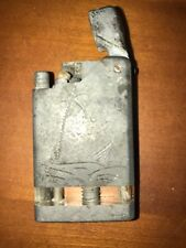 Vtg ww2 trench art aluminum Trench Art Military Lighter North Africa Tunisia