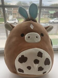 Squishmallow 12IN Harry the Brown Horse Spotted KellyToy 2021 Walmart Free Ship