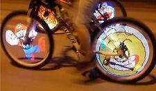 BARRA LED PER RUOTA BICI PROGRAMMABILE PROGRAMMABLE LED BIKE WHEEL LIGHT COLOR