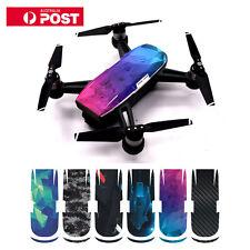 6in1 PVC Waterproof & UV Resistant Skin Cover Colorful Sticker 4 DJI Spark Drone
