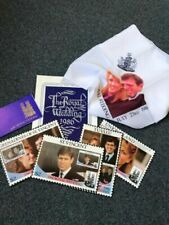 Prince Andrew & Fergie Wedding Stamps