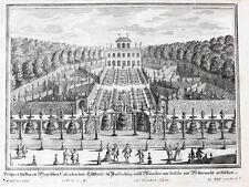 1717 München Harlaching Kupferstich-Gesamtansicht Remshart Disel