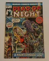 🌠🗝️Dead of Night #1 (12/1973) VG+ Marvel Comics HORROR Bronze Age