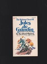 SEABURY QUINNSKELETON CLOSET OF  JULES DE GRANDIN.NICE CLEAN COPY.