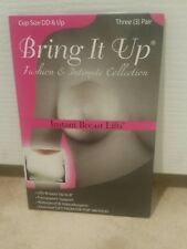 BRING IT UP Original Breast Lifts DD Cup & Larger Clear Pack of 3 Pairs New USA