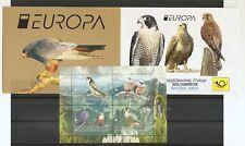 MACEDONIA ,2019,EUROPA CEPT,NATIONAL BIRDS,VOGEL,,BOOKLET,MNH