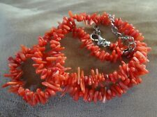 Vintage red Rama Coral Collar Extensible