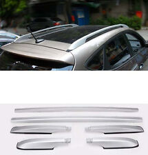 Roof Rack silver color painted alloy For 2013-2017 Mitsubishi Outlander new 2pcs