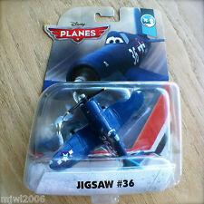 Disney Planes JIGSAW #36 U.S.S. FLYSENHOWER Theme INTL diecast DLL84 JollyWrench