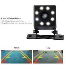 Universal 8 LED IR Car Rear View Reverse Parking Backup Camera HD Night Vision