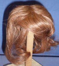 """Peluca de muñeca/cabello humano 9"""" a 9.5"""" Marrón, barbilla longitud/EHP Braun 23/24 halblang"""