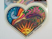 40055 Dove Sticker by Dan Morris Peace Love Hippie 60/'s Sun Earth Moon Mosaic