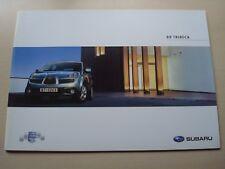 Subaru B9 Tribeca FOLLETO VENTAS GB 2007 stb002 NUEVO, VIEJO STOCK