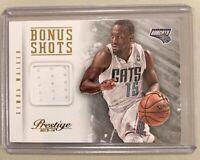 Kemba Walker 2013-14 Prestige Bonus Shots Materials #16 patch Charlotte Bobcats